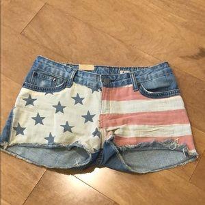 Polo Ralph Lauren flag shorts size 14 NEW